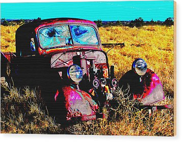 Beatle Juice Wood Print by Kurt Gustafson