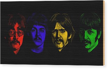Beatles No 9 Wood Print