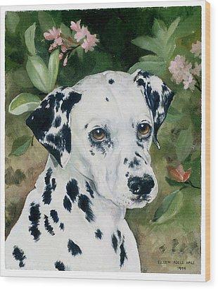 Beaudiddeley Wood Print by Eileen Hale