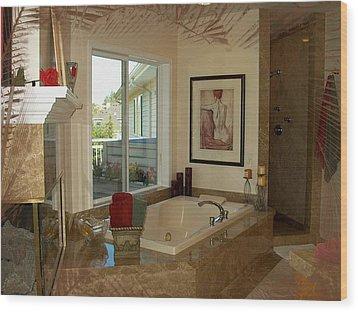 Beautiful Bath Wood Print