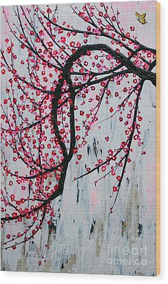 Beautiful Blossoms Wood Print by Natalie Briney