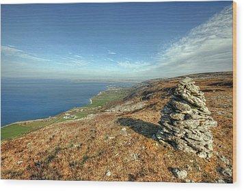 Beautiful Burren View Wood Print by John Quinn