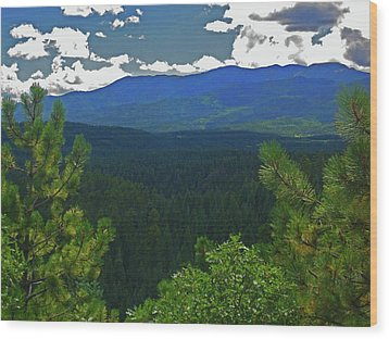 Wood Print featuring the photograph Beautiful Colorado by Tammy Sutherland