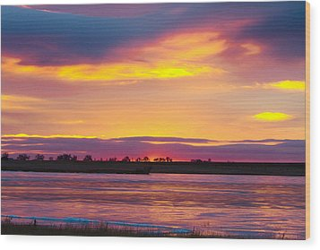 Beautiful Colorful Boulder County Winter Morning Wood Print by James BO  Insogna