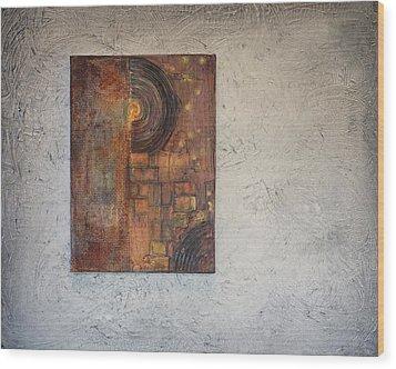 Beautiful Corrosion Too Wood Print by Theresa Marie Johnson