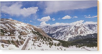 Wood Print featuring the photograph Beautiful Cottonwood Pass by Tim Reaves