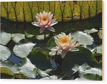 Wood Print featuring the photograph Beautiful Dainties by Deborah  Crew-Johnson