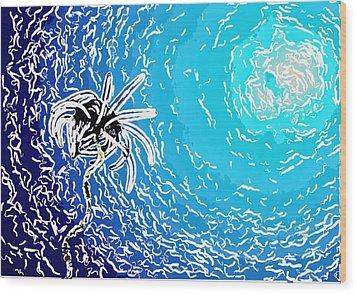 Beautiful Marine Plants 2 Wood Print by Lanjee Chee