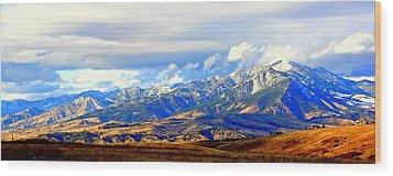 Beautiful Montana Wood Print