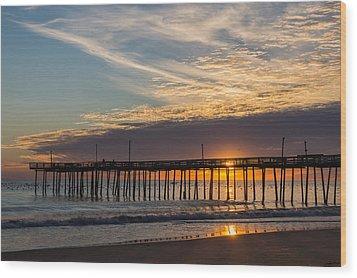 Beautiful Morning Wood Print by Gregg Southard