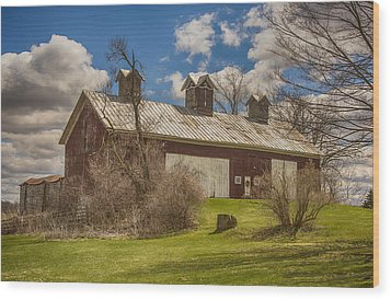 Beautiful Old Barn Wood Print by JRP Photography