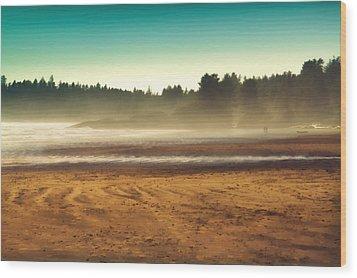 Beautiful Pacific Morning  Wood Print by Naman Imagery