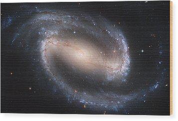 Beautiful Spiral Galaxy Wood Print by Carl Deaville