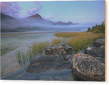 Wood Print featuring the photograph Beauty Creek Dawn by Dan Jurak