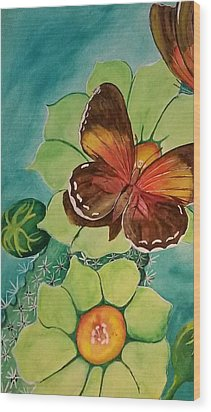 Beauty In Butterflies Wood Print