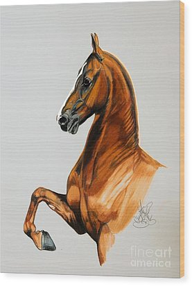 Sirtainly Stylish  - Saddlebred Wood Print