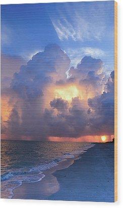 Wood Print featuring the photograph Beauty In The Darkest Skies II by Melanie Moraga