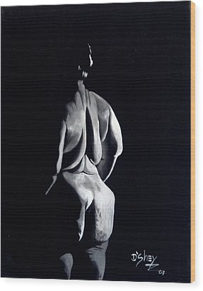 Beauty In The Shadows 7 Wood Print by Don MacCarthy