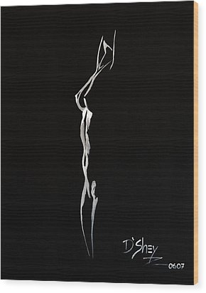 Beauty In The Shadows 8 Wood Print by Don MacCarthy