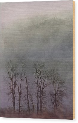 Wood Print featuring the photograph Beauty In The Wind by Angie Vogel