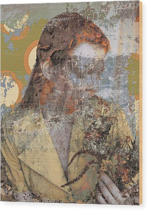 Beauty Rust And Forgetfulness Wood Print by Adam Kissel
