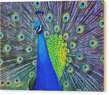 Beauty Whatever The Name Wood Print by Jeff Kolker