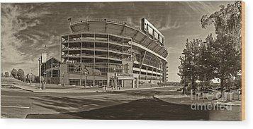 Beaver Stadium Wood Print