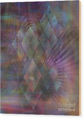 Bedazzled Wood Print by John Beck