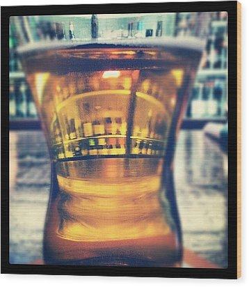 #beer #bar #bottles #irish #drinking Wood Print