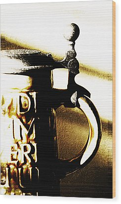 Beer Stein Wood Print by Simone Hester