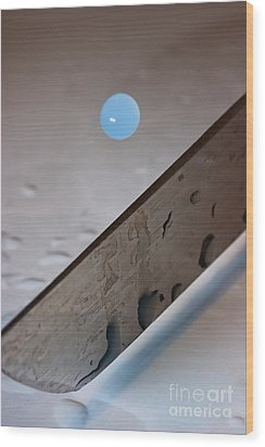 Wood Print featuring the photograph Before by Joerg Lingnau
