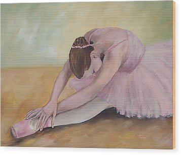 Before The Ballet  Wood Print by Torrie Smiley