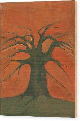 Beginning Of Life Wood Print by Wojtek Kowalski