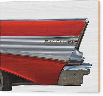 Wood Print featuring the photograph Bel Air by Peter Tellone