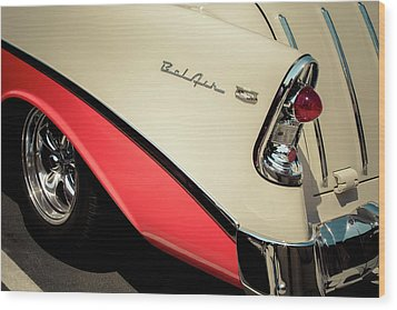 Bel Air Style Wood Print by Caitlyn Grasso