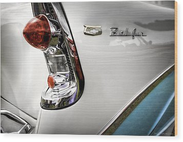 Belair One Wood Print by Jerry Golab