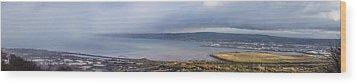 Belfast Lough  Wood Print