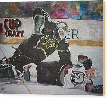 Belfour Wood Print by Travis Day