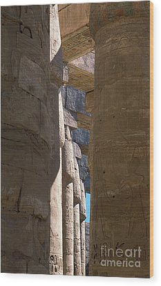 Wood Print featuring the photograph Belief In The Hereafter IIi by Urft Valley Art