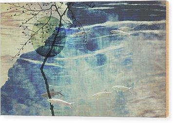 Believe Wood Print by AugenWerk Susann Serfezi
