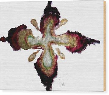 Believing In Me Wood Print by Erika Brown