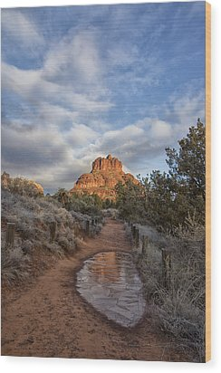 Bell Rock Beckons Wood Print