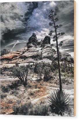 Wood Print featuring the photograph Bell Rock by Jim Hill