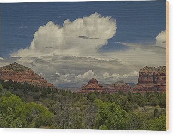 Bell Rock's Beauty Wood Print by Tom Kelly