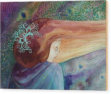 Bella Aurora Wood Print by Ragen Mendenhall