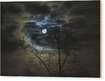 Bella Luna Wood Print