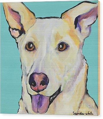 Bella Wood Print by Pat Saunders-White