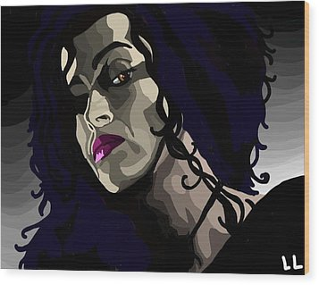 Bellatrix Wood Print by Lisa Leeman