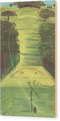 Bellwood Number Seven Wood Print by Stu Hanson