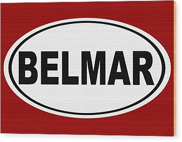Wood Print featuring the photograph Belmar New Jersey Home Pride by Keith Webber Jr